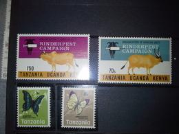 Lot Stamps Tanzania - Briefmarken