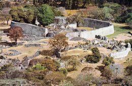 1 AK Simbabwe * Ansicht Von Great Zimbabwe - Auch Akropolis Genannt - Seit 1986 UNESCO Weltkulturerbe * - Zimbabwe