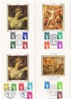 Carte Maximum 1978 - Série Sabine De Gandon (d'après J.L. David)  YT 1962 à 1979 (Réf A1213) - Cartes-Maximum