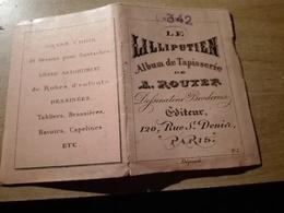 LE LILLIPUTIEN ALBUM DE TAPISSERIE A. ROUYER BRODERIES N°355 - Loisirs Créatifs