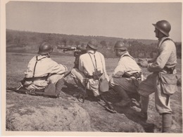 LES TIRAILLEURS DE LA CA 2   COETQUIDAN 1938   PHOTO ORIGINALE - Army & War