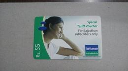 India-rim Prepiad Card-(50a)-(rs.55)-(navi Mumbai)-(30.6.2007)-(look Out Side)-used Card+1 Card Prepiad Free - India