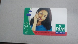 India-rim Prepiad Card-(50b)-(rs.165)-(navi Mumbai)-(31.3.2006)-(look Out Side)-used Card+1 Card Prepiad Free - India