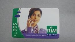 India-rim Prepiad Card-(50e)-(rs.995)-(navi Mumbai)-(30.6.2006)-(look Out Side)-used Card+1 Card Prepiad Free - India