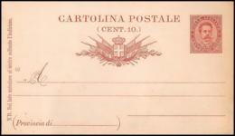 2815/ Italie (italy) Entier Stationery Carte Postale (postcard) N°16 (90) Neuf - 1878-00 Humbert I