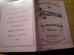 LE LILLIPUTIEN DESSINS POUR BRISTOL A. ROUYER BRODERIES N°341 - Loisirs Créatifs