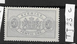1881 MNH Service Perf 13,  Postfris** - Service