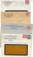 Montargis , Loiret ,6 Enveloppes à Entête Commerciale , De 1942 ,2 Scans - France