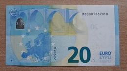 20 Euro 2015 Portugal M001 B6 UNC - EURO