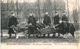 (02) Bourg-Léopold Camp De Beverloo En Route Pour Contre Quette - Leopoldsburg (Camp De Beverloo)
