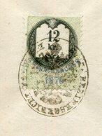 Oesterreich / 1872 / Dokument Mit Stempelmarke 12 Kr., Gerichtssache, 3 Seiten (3/099-20) - Covers & Documents