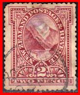 NEW ZELANDA --  PEMBROKE PEAK  --  SELLO AÑO 1891-96 - 1855-1907 Colonia Británica