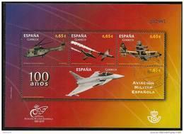 2011-ED. 4653-H.B. -100 AÑOS DE AVIACION MILITAR ESPAÑOLA-USADO - 1931-Hoy: 2ª República - ... Juan Carlos I