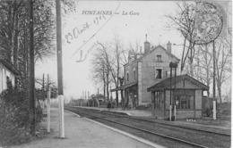 Fontaines La Gare - France