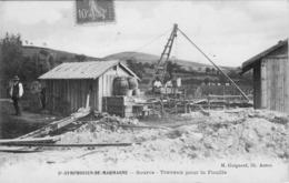 St Symphorien De Marmagne Source Travaux Pour La Fouille - France