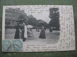 PARIS VÉCU - LA PROMENADE 1903 ( 2 Scans ) - France