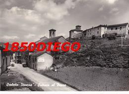 SCALETTA UZZONE - ENTRATA AL PAESE  F/GRANDE VIAGGIATA 1958 ANIMAZIONE - Cuneo