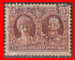 CANADA ISLA DE TERRANOVA   SELLO AÑO 1928 QUEEN MARY GEORGE V — 3 CENTS - 1911-1935 Reinado De George V