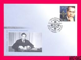 MOLDOVA 2018 Famous People Personalities Royalty Royals Last King Of Romania Mihai I (1921 – 2017) Mi Klb1072 Sc1008 FDC - Moldova