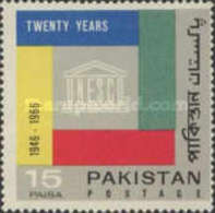 USED STAMPS Pakistan - The 20th Anniversary Of UNESCO-1966 - Pakistan