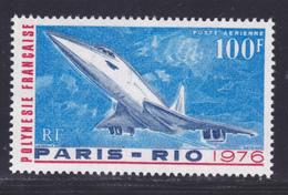 POLYNESIE AERIENS N°  103 ** MNH Neuf Sans Charnière, TB (D7992) Avion, Concorde, 1er Vol Commercial -1976 - Airmail