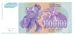 YUGOSLAVIA P. 120 1.000.000 D 1993 UNC - Yugoslavia