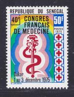 SENEGAL N°  419 ** MNH Neuf Sans Charnière, TB (D7997) Congrès Français De Médecine à Dakar -1976 - Senegal (1960-...)