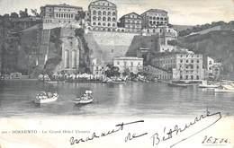Sorrento - Le Grand Hôtel Victoria - Italie - Autres Villes