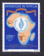 SENEGAL N°  420 ** MNH Neuf Sans Charnière, TB (D7998) Conférence Sur Les Droits De L'homme Et La Namibie -1976 - Senegal (1960-...)