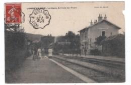 25  LONGEMAISON   La Gare , Arrivé Du Train - Autres Communes
