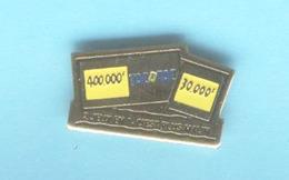 PINS PIN'S LA FRANCAISE DES JEUX - TACOTAC - 2 Jeux En 1 C'est Plus Malin. - Games