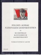 DDR1956 Blok Nr 8 ** Zeer Mooi Lot Krt 3068 - Collezioni (senza Album)