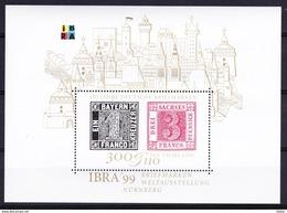 Duitsland West 1999 Blok Nr 45 **, Zeer Mooi Lot K 334 - [7] République Fédérale
