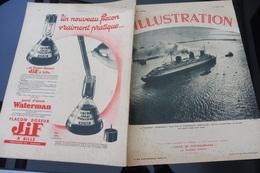 L'ILLUSTRATION 8 JUIN 1935 -PAQUEBOT NORMANDIE/ LE HAVRE/ AMITIES France Italie/ AFRIQUE/ MARIAGE STOCKHOLM/LAUSANNE - Kranten