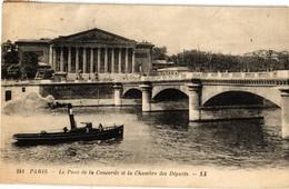 PARIS ... SEINE .. BATEAU REMORQUEUR  A VAPEUR  .. 1920 - Remorqueurs