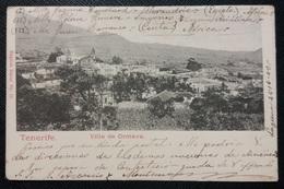 HC - 1903 ESPAÑA Spain Canarias TENERIFE Villa De Orotava - RARE POSTCARD - Ed. ENGLISH BAZAR # 19 - Tenerife