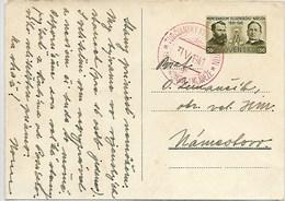E73-SLOVAKIA 1941 - POSTCARD -MEMORANDUM SLOVAKIA -27.VI.1881-VARIANT 2 - Entiers Postaux