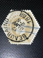 COB TG5 Oblitération Beauraing 1888 - Télégraphes