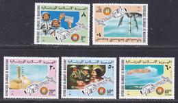MAURITANIE N°  344 & 345, AERIENS 161 à 163 ** MNH Neufs Sans Charnière, TB (D8003) Cosmos, Colloboration USA-URSS-1975 - Mauritanie (1960-...)