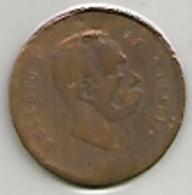 Umberto I, Regno D'Italia, 1895, Medaglia Per Il 25° Riscatto Di Roma. - Other