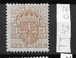1911 MNH Service Wmk Line + KPV, Postfris** - Dienstzegels