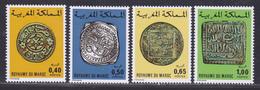 MAROC N°  746 à 749 ** MNH Neufs Sans Charnière, TB (D8004) Anciennes Monaies Marocaines - 1976 - Morocco (1956-...)