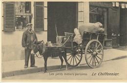 CPA - LES PETITS MÉTIERS PARISIENS -  LE CHIFFONNIER - REPRODUCTION - CECODI - C'ÉTAIT LA FRANCE - Petits Métiers à Paris