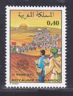 MAROC N°  745 ** MNH Neuf Sans Charnière, TB (D8006) La Marche Verte - 1975 - Maroc (1956-...)