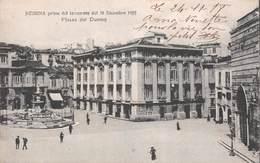Messina Prima Del Terremoto Del 28 Dicembre 1908 - Piazza Del Duomo - Italie - Messina