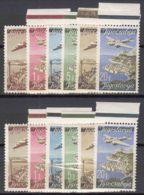 Yugoslavia Republic 1947 Airmail Mi#515-520 Mint Never Hinged - Nuevos
