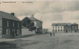 CPA  : Fontaine Valmont   (Belgique) Place Communale   Ed Nels     Voyagée     Rare - Other