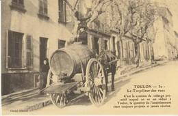 CPA - TOULON - LE TORPILLEUR DES RUES - REPRODUCTION - CECODI - C'ÉTAIT LA FRANCE - Toulon