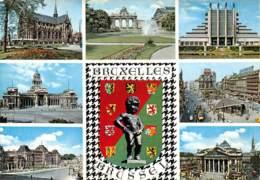 CPM - Souvenir De BRUXELLES - Panoramische Zichten, Meerdere Zichten