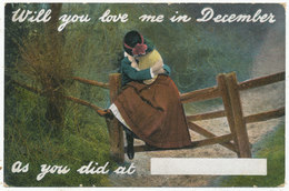 Will You Love Me In December, As You Did At ……. - Other